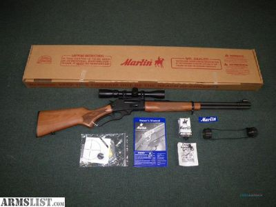 For Sale: Marlin 336W (.30-30) w/ Scope Pkg - New in Box