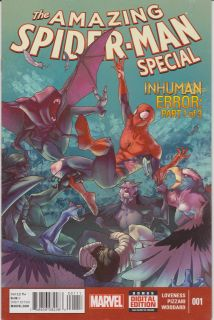 The amazing spider-man special