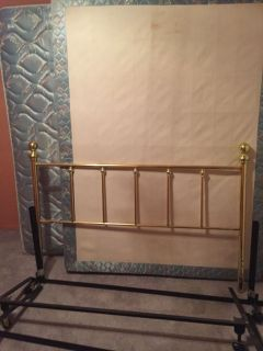 Queen Bed, Frame and Headboard, plus 6 sets of sheets