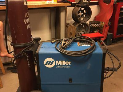 Miller Millermatic 185 Mig Wire Welder