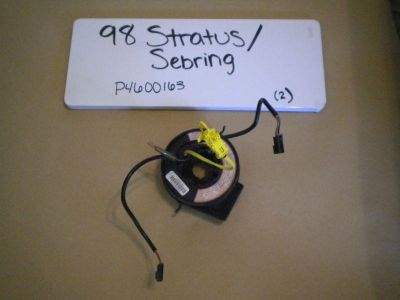 Sell 96 97 98 STRATUS SEBRING AIR BAG STEERING WHEEL CLOCK SPRING 4600163 motorcycle in Orem, Utah, US, for US $45.00