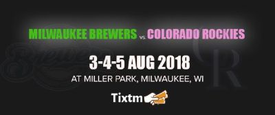 Milwaukee Brewers vs. Colorado Rockies at Milwaukee - Tixtm.com