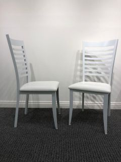 White cool chairs $30 for 3