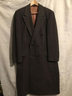 Overcoat, Brown, 3/4 length Size 48