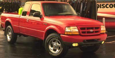 1999 Ford Ranger XLT (Gold)