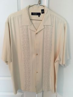 Nat Nast 100% silk shirt XL