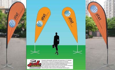 Advertise your event in JD's Flying and Promo Banners