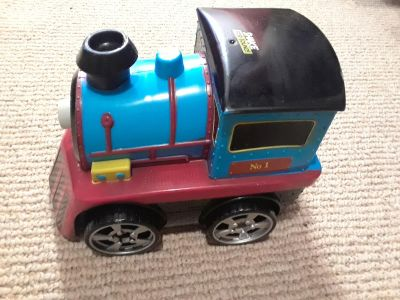 Train! With fun sounds and rolling wheels!