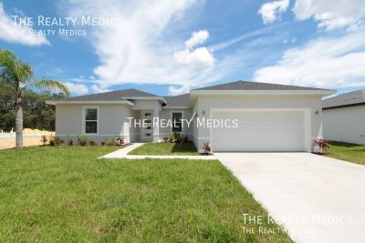 Gorgeous, BRAND NEW 4 Bedroom, 2 Bathroom Home in Poinciana!!