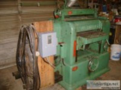 Powermatic Planer- quotx quot and dust collector