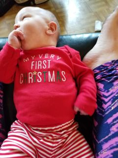 My very first Christmas outfit