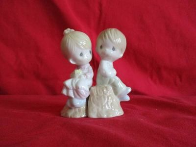 Precious Moments Cup and Salt & Pepper Shakers