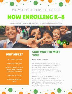 Now Enrolling K