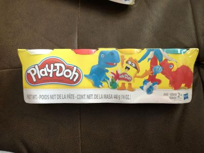 NIP PLAY-DOH 4 pack - Assorted Colors - 2 of 2 - NO ADDL DISCOUNTS