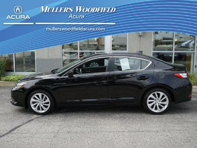2016 Acura ILX Base (Crystal Black Pearl)