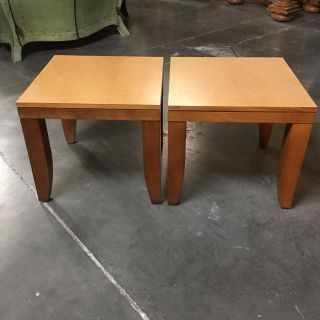 Pair Of Tables (20 x 20 & 18 Height)