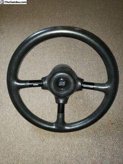Porsche Design Momo steering wheel
