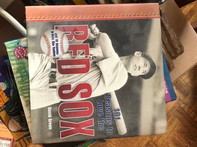 101 Reasons to Love the RED SOX by David Green. Hardback. Great condition