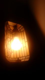 Warehouse Collection Tiffany Lamp
