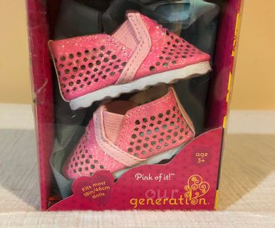 Pink Sneakers Age 3+