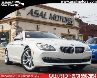 2013 BMW Integra 640i (Mineral White Metallic)