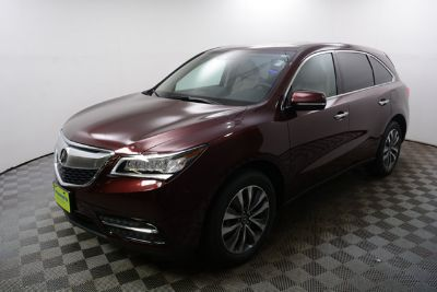 2016 Acura MDX Base w/Tech (Dark Cherry Pearl)