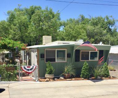 2 bedroom, 1 bath 55+ MHP in Prescott AZ 86303