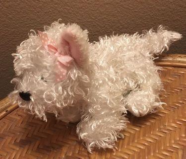 Webkinz White Terrier HM106