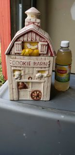 Cookie Barn jar