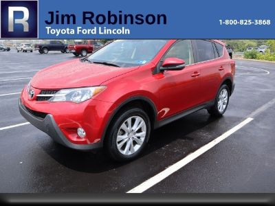 2014 Toyota RAV4 Limited (red)
