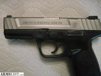For Sale: Smith and Wesson SD9VE $250