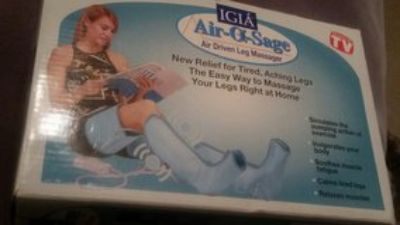NEW IGIA Air-O-Sage Leg and Thigh Massager