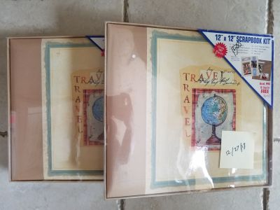 NEW - 12 X 12 Travel Scrapbook Kits