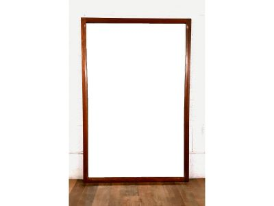 Exquisite Kai Kristiansen Large Danish Teak Mirror