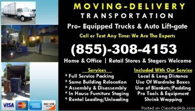 Moving Company & Local Movers