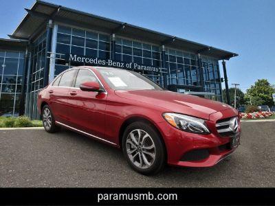 2018 Mercedes-Benz C-Class (Designo Cardinal Red Metallic)