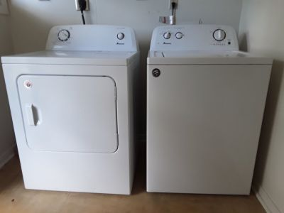 Washer and Dryer - under 2yrs old