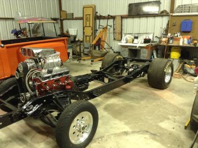 1965 Chevy Frame ProjectNew Blower Motor