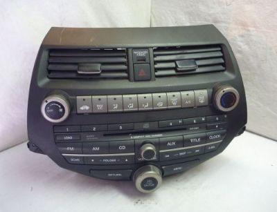 Sell 08-12 Honda Accord Radio 6 Cd Mp3 XM & Code 39101-TE0-A311 3BB2 C56706 motorcycle in Williamson, Georgia, United States