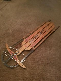 $40, Snappy Boy sled