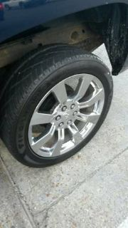 Factory Chevrolet 22 rims and tires (around pineville)