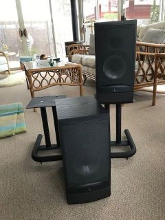 Infinity Speakers and Stands