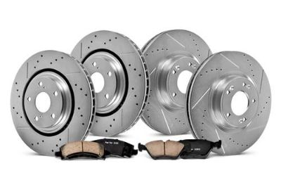 Buy 97-98 Saab 900 PowerStop K833 - Front and Rear Brake Kit Full Set motorcycle in Chicago, Illinois, US, for US $295.13