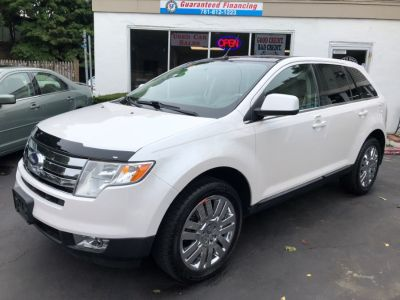 2010 Ford Edge Limited (White Platinum Metallic Tri-Coat)