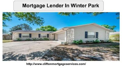 Get best Mortgage Lender In Winter Park | Clifton Mortgage