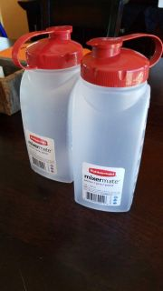 2 brand new 1 quart containers