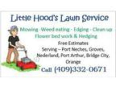Little Hoods Lawn and Pressure Washing Service
