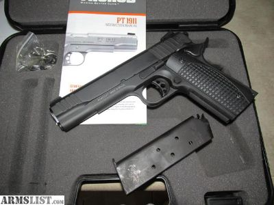 For Sale: Taurus PT1911 45 ACP