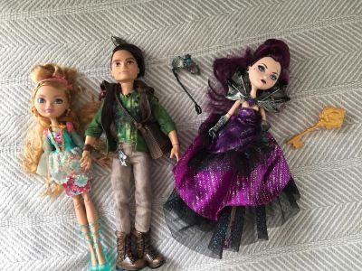 Ever After High dolls. $4 for all