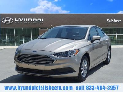 2017 Ford Fusion S (Gold)